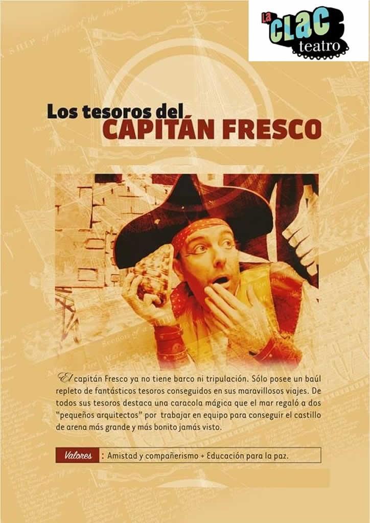 los tesoros del capitán fresco