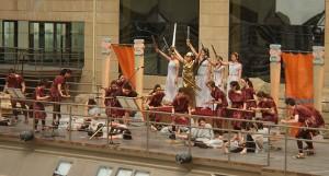La Odisea en el Anfiteatro Romano de Zaragoza