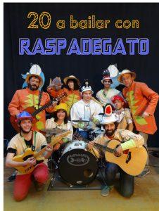 20 a bailar con Raspadegato.2